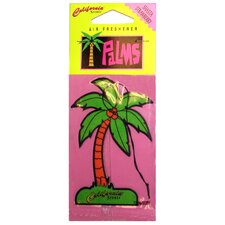 Shasta Strawberry Palms Hang Outs Car Air Freshener