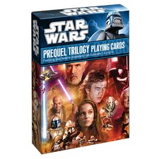 Star Wars Prequel Trilogy Playing Cards