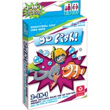 2-in-1 Card Game Go Fish and Memory