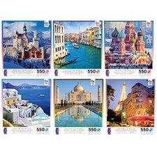 550 Piece World Puzzles