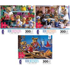 <strong>Ceaco Inc</strong> 300 Piece Bear Necessities Oversized Puzzle
