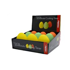 60 Minute Egg Cooking Timer Counter Display (Set of 9)