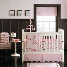 Pink Blossom Crib Bedding Collection