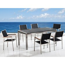 <strong>Beliani</strong> Grosseto 7 Piece Dining Set