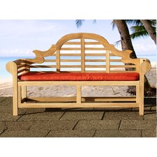<strong>Beliani</strong> Marlboro Wood Garden Bench