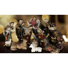 11 Piece Real Life Nativity Set