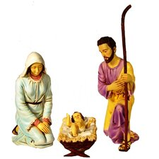 3 Piece Polyresin Nativities Set