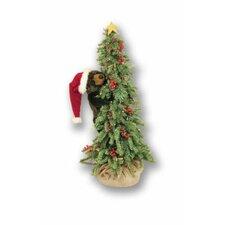 Climbing Christmas Tree Bear