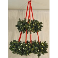 Hanging Basket Wreath