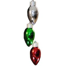 Light Bulb Ornament (Set of 3)