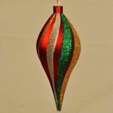 Sprial Teardrop Ornament
