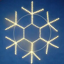 <strong>Queens of Christmas</strong> Snowflake Rope Light