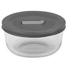 2-Cup Pyrex Container with Lid