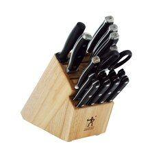 International Forged Premio 17 Piece Cutlery Block Set