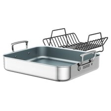 "CeraForce 16"" Ultra Coated Roasting Pan"
