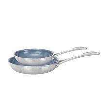 Spirit 4.8 lb 2-Piece Frying Pan Set