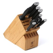 Twin Four Star II 9 Piece Cutlery Block Set