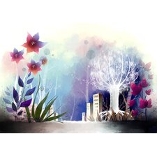 Winter Wonderland Graphic Art on Canvas