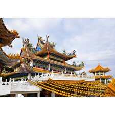 Thean Hou Temple in Kuala Lumpur Malaysia Photographic Print on Canvas