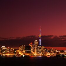 New Zealand Auckland Photographic Print on Canvas