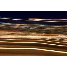 Flashing Car Street Lights Graphic Art on Canvas