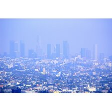 Haze Over Downtown Los Angeles