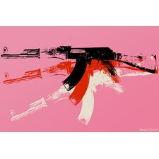 """AK-47"" Painting Prints on Canvas"
