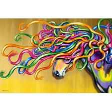 """Majestic Horse"" Graphic Art on Canvas"