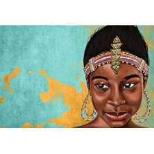 """Princess Mauhbohn"" Painting Prints on Canvas"