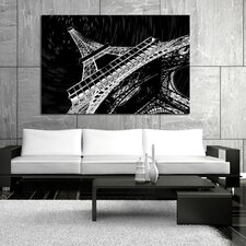 Under The Tower Graphic Art on Canvas
