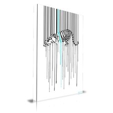 Tiger Stripe Graphic Art on Canvas