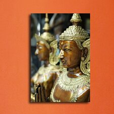 Kannara Statue Photographic Print on Canvas