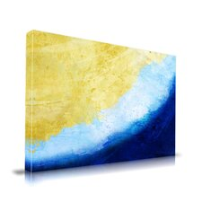 Waves Graphic Art on Canvas