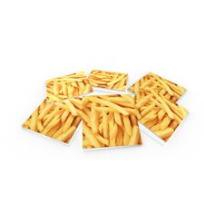 French Fries Coaster (Set of 6)