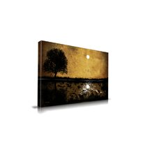 Moonlight Graphic Art on Canvas