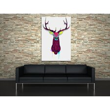 Elks Head Canvas Print