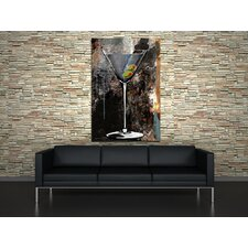 Martini Glass Canvas Print