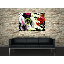 French Dog Canvas Print