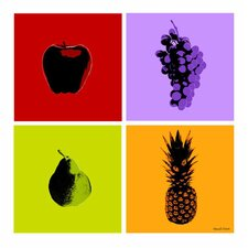 Fruits Graphic Art on Canvas