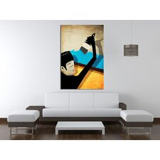 Roof Paint Canvas Print