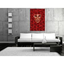 Rose Bed Canvas Print
