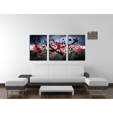 Beautiful Mind 3 Piece Canvas Print Set