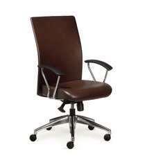 Rete High-Back Chair with Arms