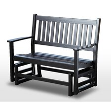 Plantation Solid Hardwood Porch Bench