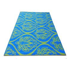 Rainforest Blue / Green Woven Rug