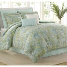 <strong>Soho New York</strong> Sea Glass 8 Piece Comforter Set