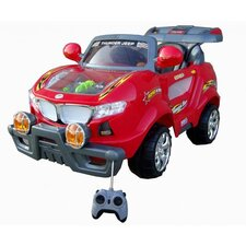 <strong>Best Ride On Cars</strong> Thunder 6V Battery Powered Jeep with Moving Engine
