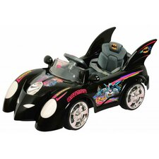 <strong>Best Ride On Cars</strong> Batmobile 6V Battery Powered Car