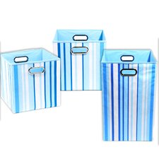 Sky Stripes 3 Piece Organization Bundle Set