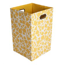 <strong>Modern Littles</strong> Rusty Giraffe Folding Laundry Basket